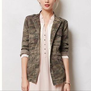 "Anthropologie Sanctuary ""Riley"" Camo Jacket XS"